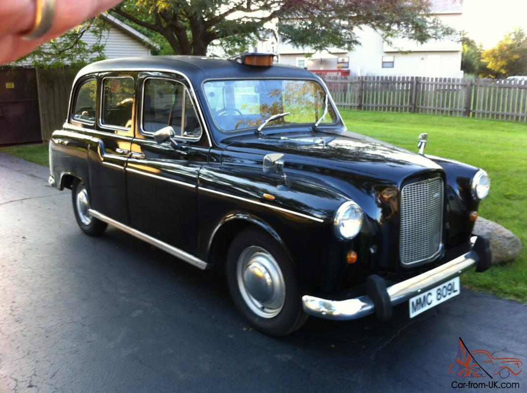 ENGLAND TAXI AUSTIN CONVENTRY COACHWORKS English Taxi Cab Original ...