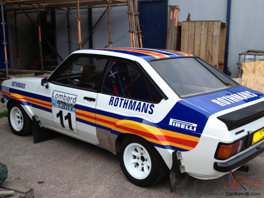 Contemporary Ford Escort Mk2 Rally Composition - Classic Cars Ideas ...