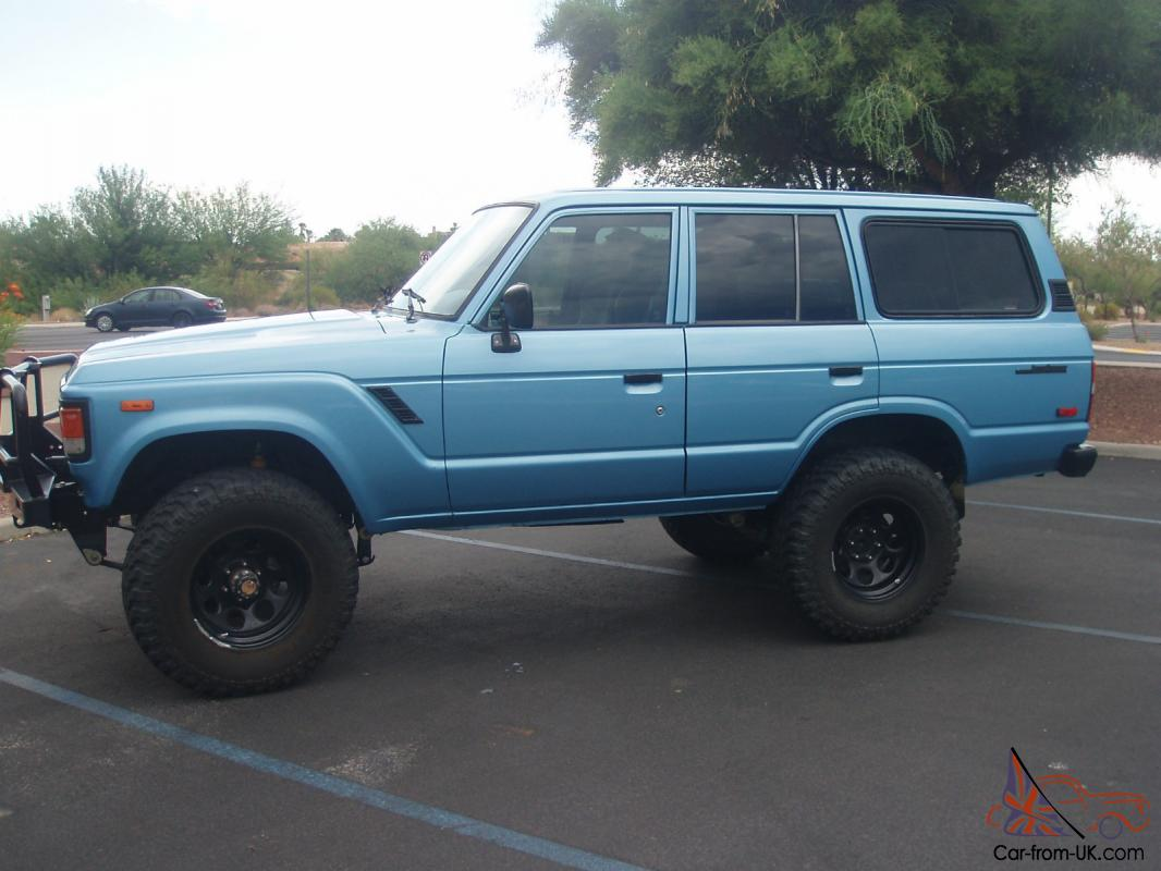 Toyota Land Cruiser Fj60 1984 Fj 60 Blue 4x4 2f