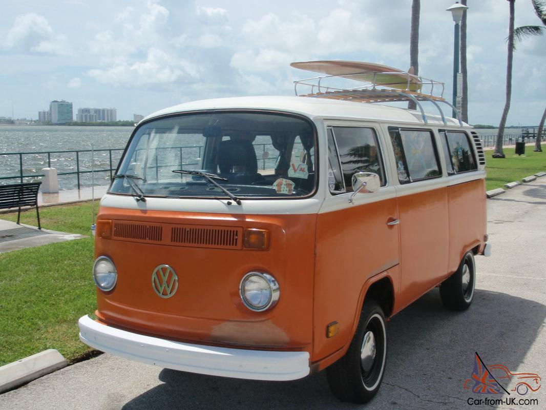 1974 volkswagen bus california surfer van unrestored original clean. Black Bedroom Furniture Sets. Home Design Ideas