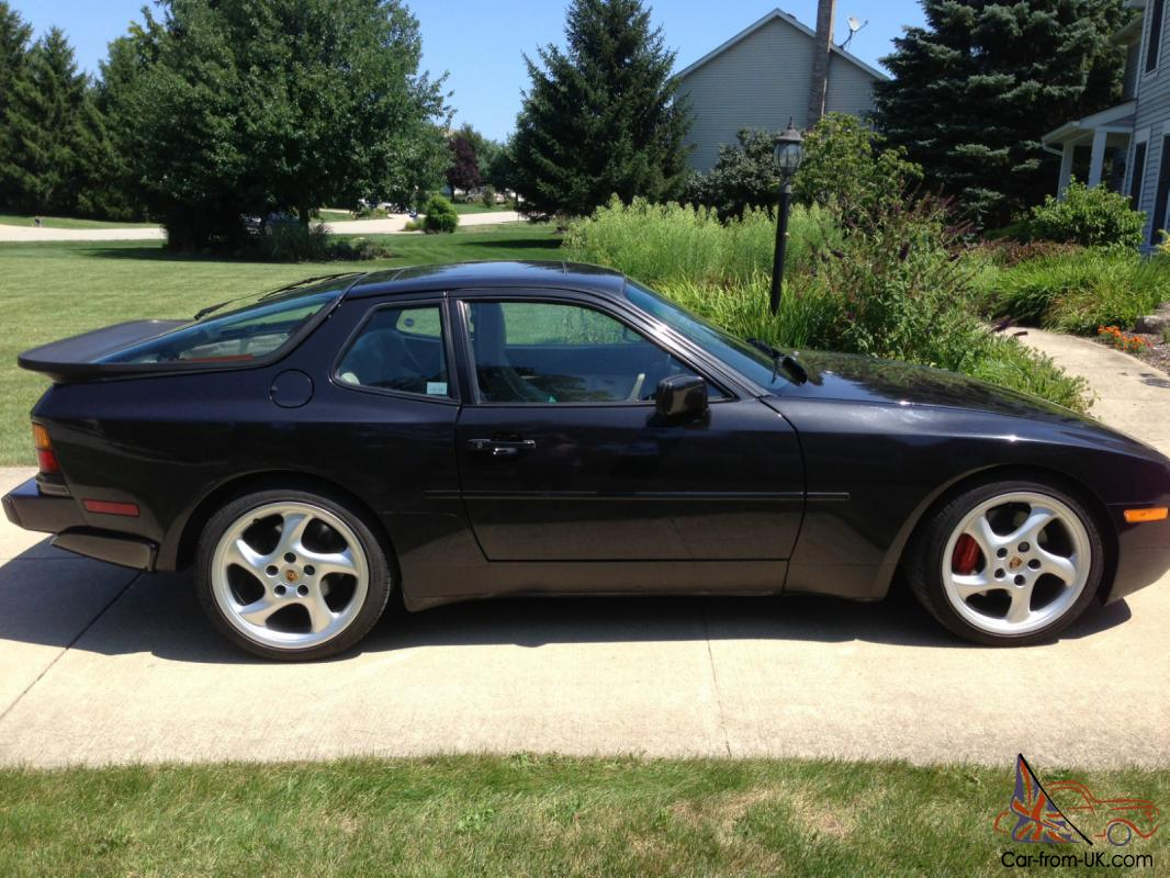 1987 porsche 944 turbo with only 43540 miles low mileage. Black Bedroom Furniture Sets. Home Design Ideas