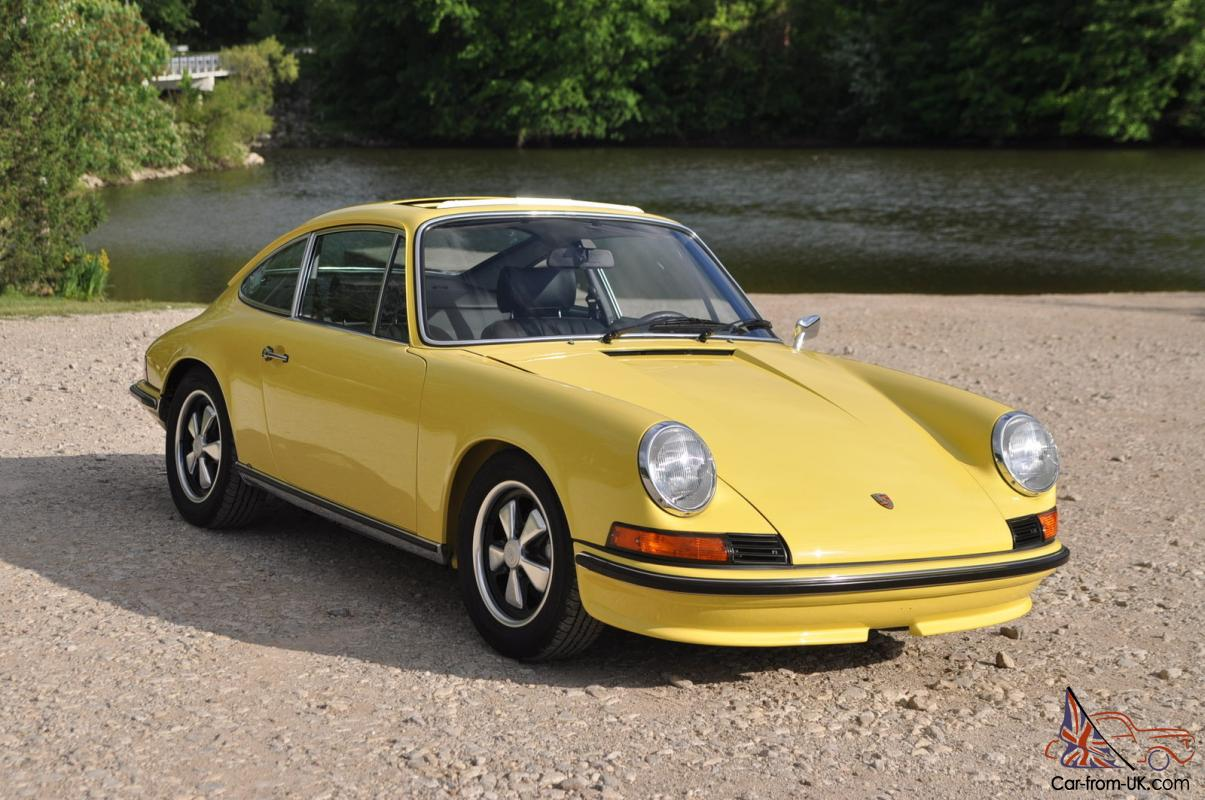 Immaculate 1973 911 E Restored