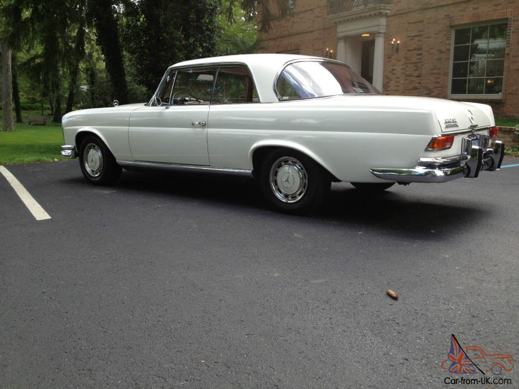1965 mercedes 220 se coupe only two owners very clean for 1965 mercedes benz 220se for sale