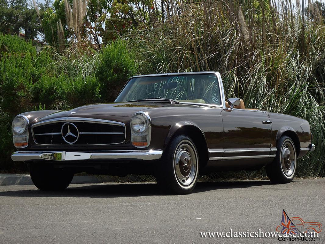 1969 mercedes benz 280sl pagoda roadster for Mercedes benz 280sl pagoda