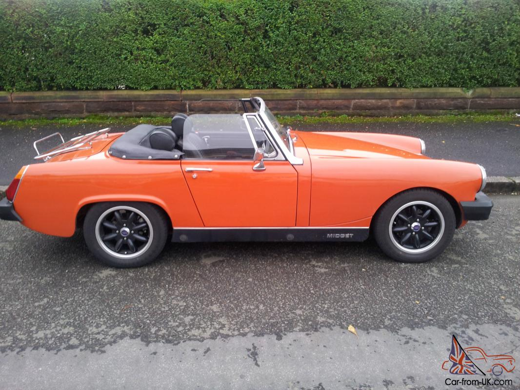 The Paradise Buying a mg midget