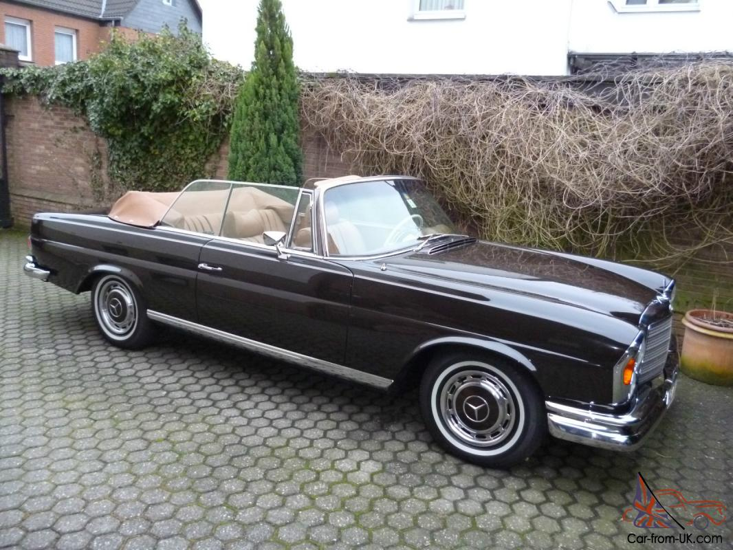 1971 mercedes 280se 3 5 convertible completly restored. Black Bedroom Furniture Sets. Home Design Ideas