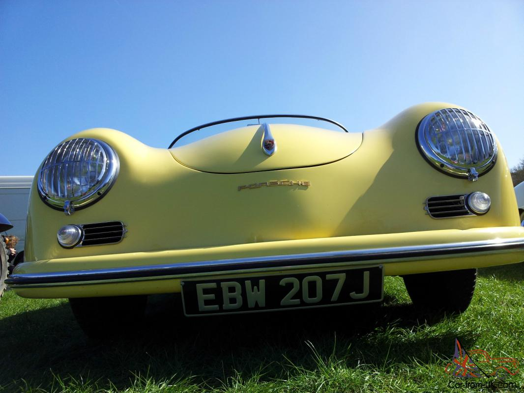 Porsche 356 Speedster Replica Condor Yellow Px Corvette