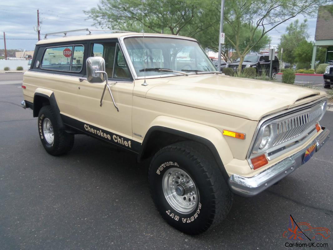 1978 jeep cherokee chief 4x4 automatic. Black Bedroom Furniture Sets. Home Design Ideas