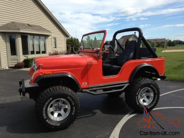 1975 Jeep CJ5 AWSOME!