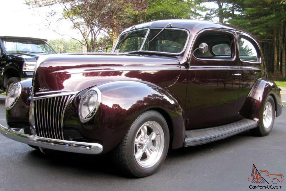 1939 ford deluxe 2 door sedan 302 automatic rwd leather for 1939 ford 2 door sedan for sale