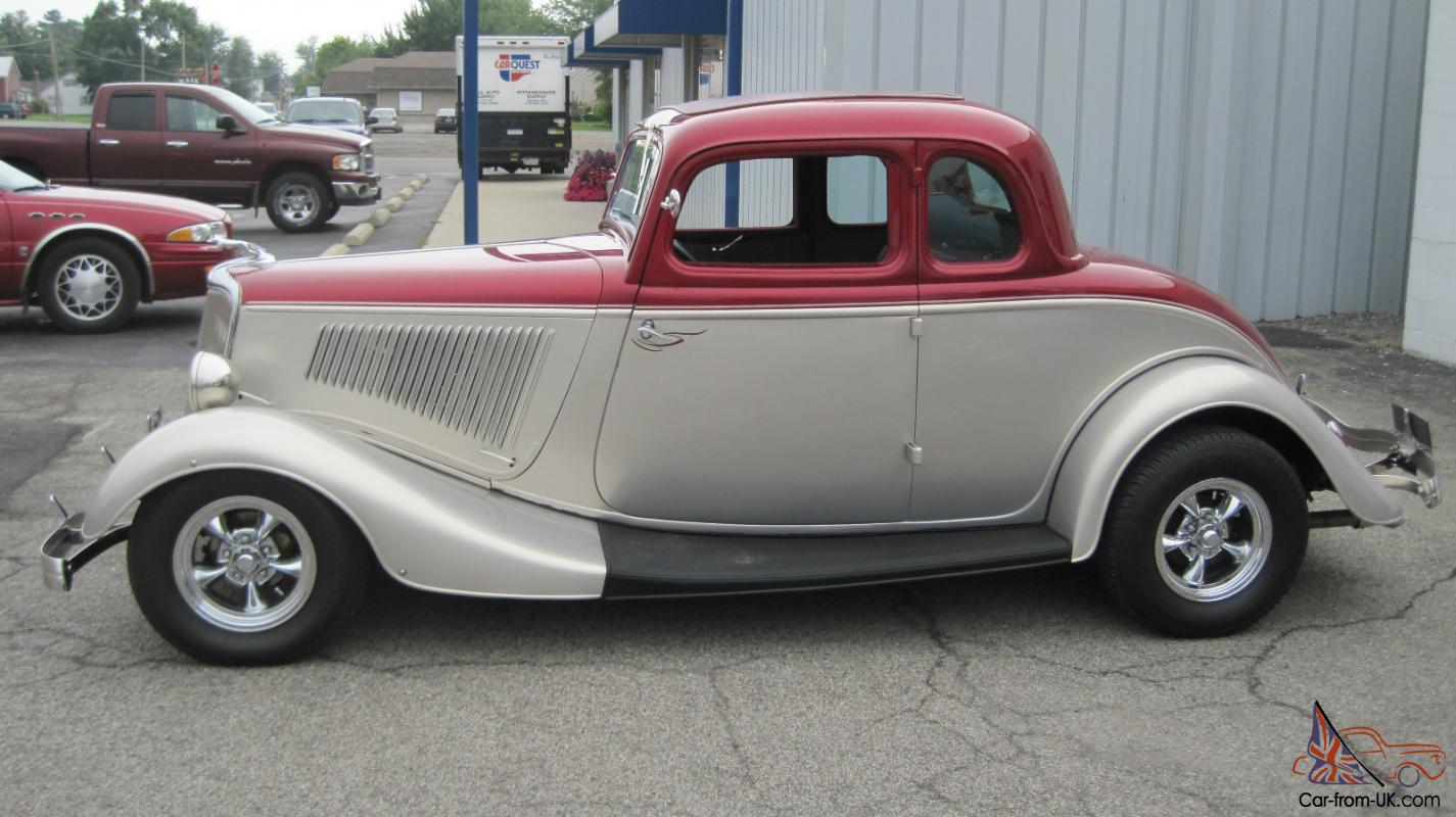 1934 ford 5 window coupe hot rod street rod 302 c4 for 1934 5 window coupe