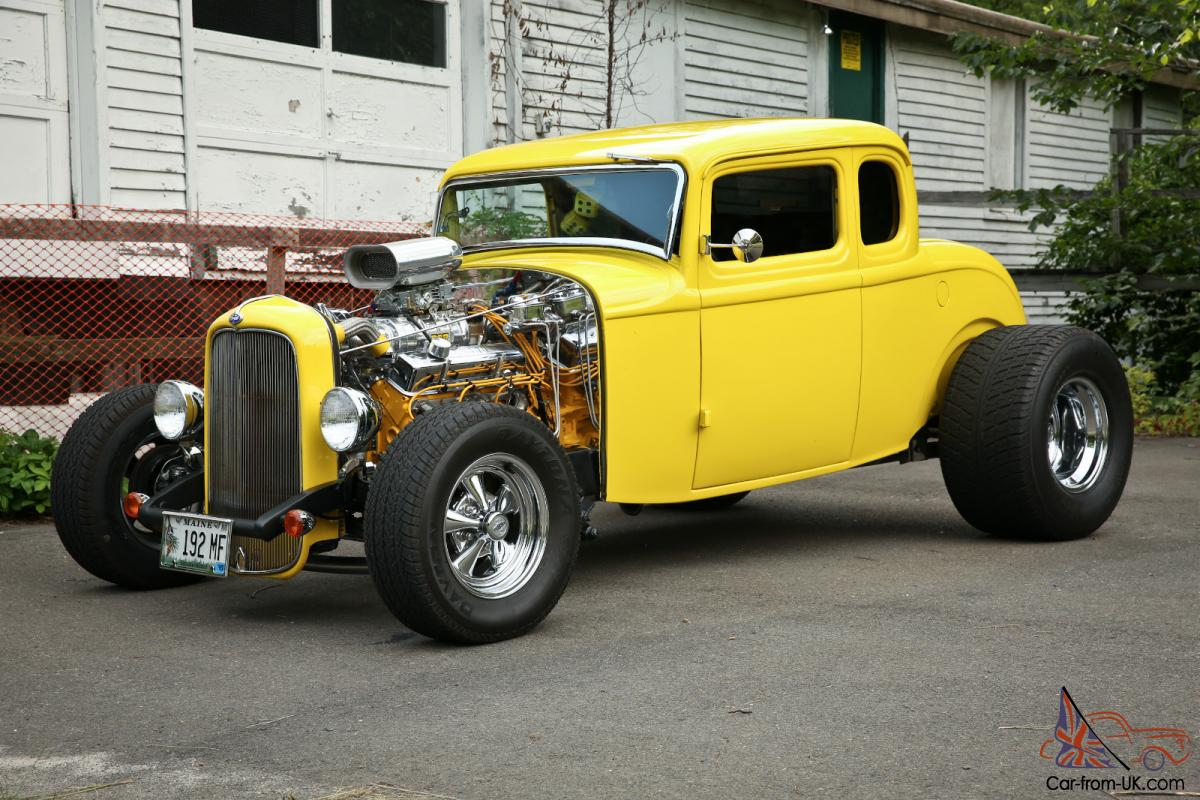 1932 FORD COUPE DEUCE 5 WINDOW FIVE WNDOW STREET ROD HOT ROD for sale