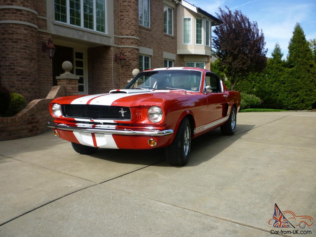 1965 shelby gt350 mustang tribute show quality totally restored fast car photo