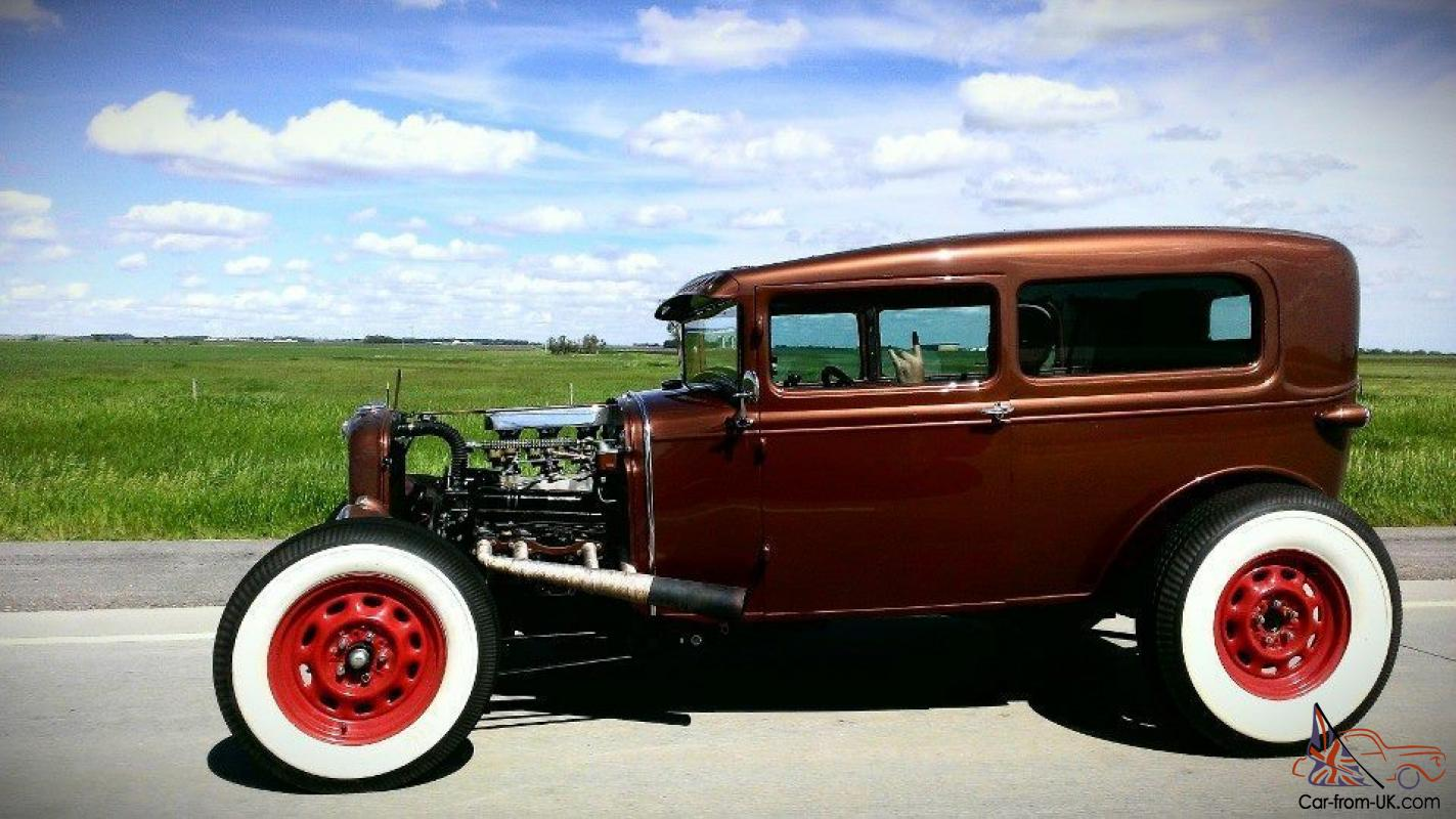 1930 ford model a traditional hot rod buick nailhead not. Black Bedroom Furniture Sets. Home Design Ideas