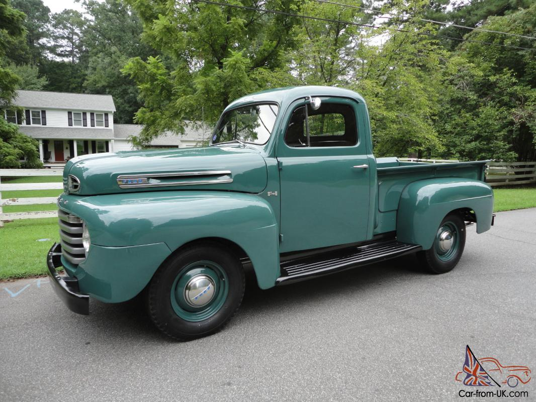 1949 Ford F 1 Pickup Flathead V8 Frame Off Restoration