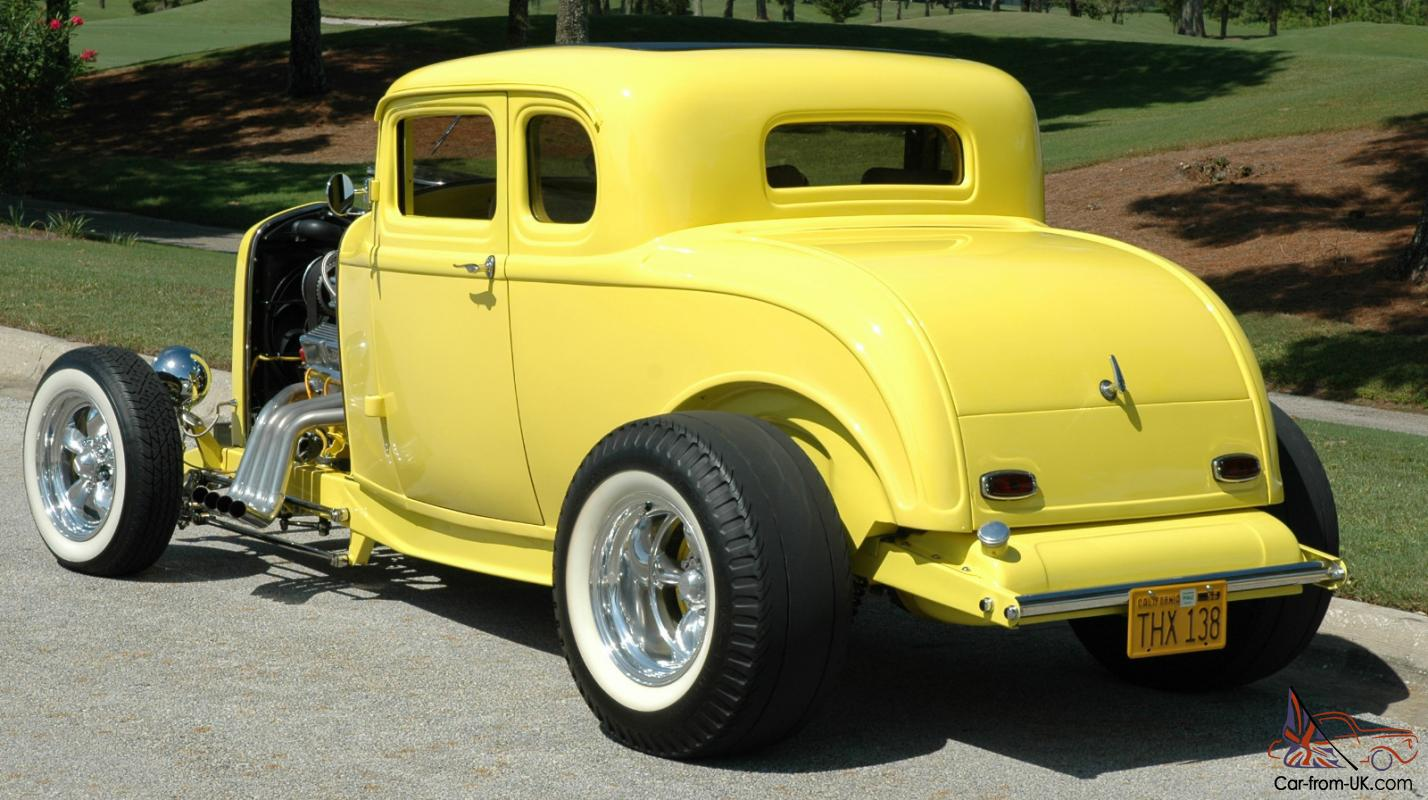 1932 ford 5 window coupe real henry ford steel chevy for 1932 ford coupe 5 window