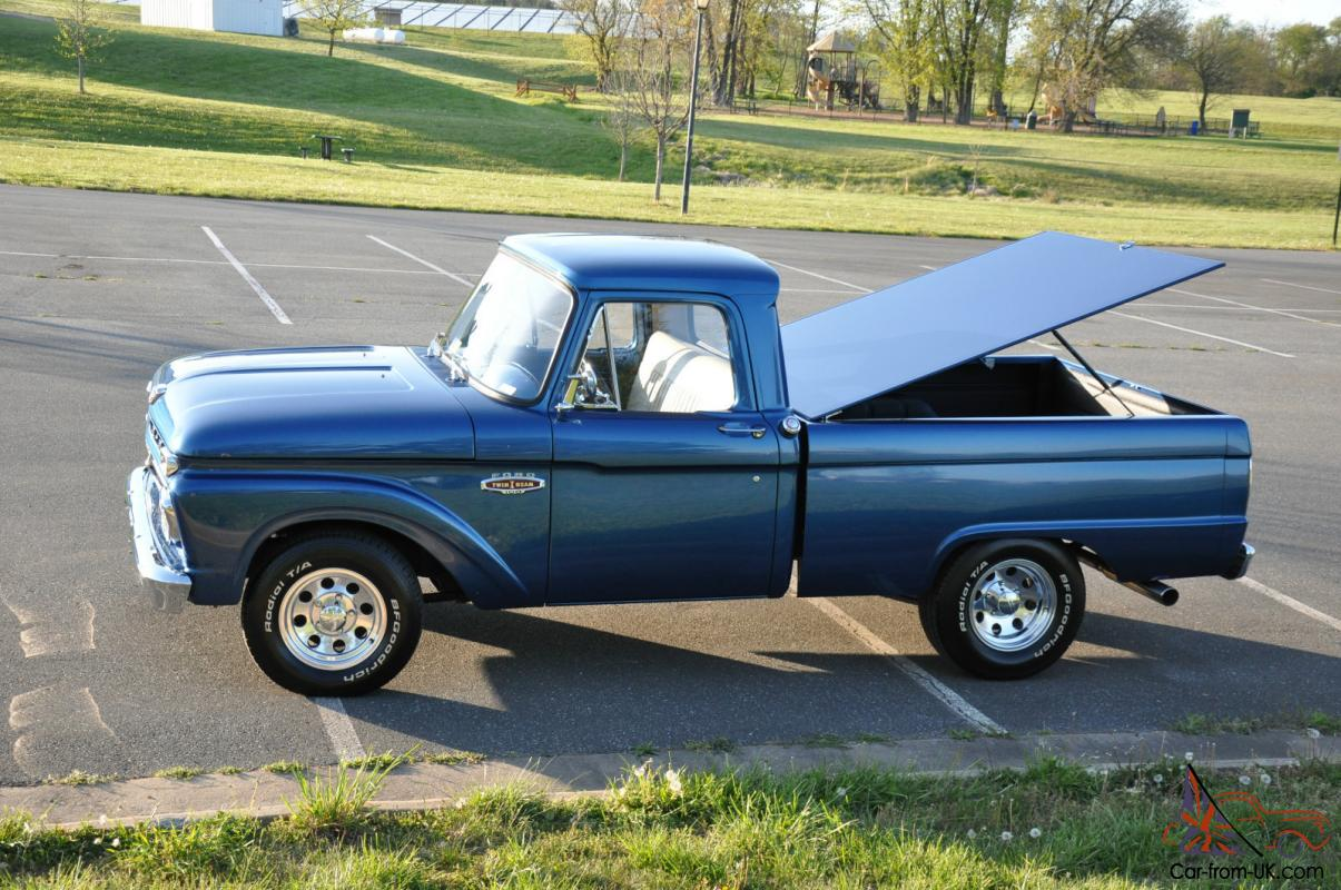 1955 ford f100 street rod truck sold - Hot Rod Ford 1966 F100 Truck For Sale