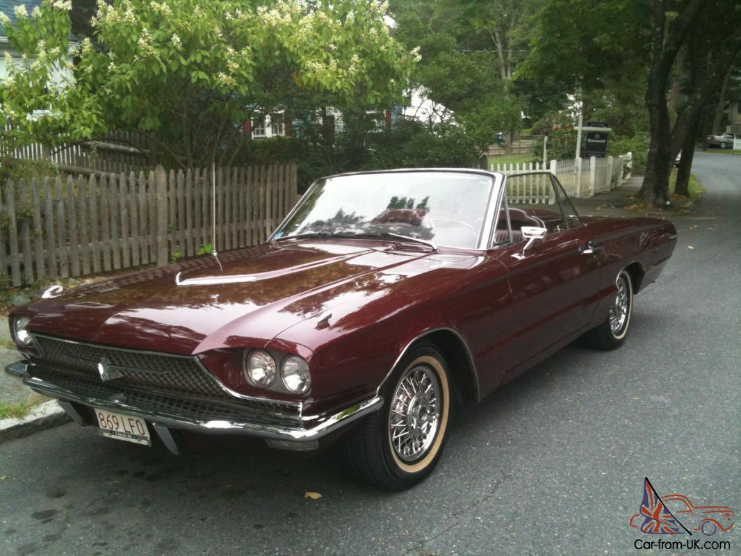 1966 ford thunderbird base convertible 2 door 6 4l 390cc. Black Bedroom Furniture Sets. Home Design Ideas