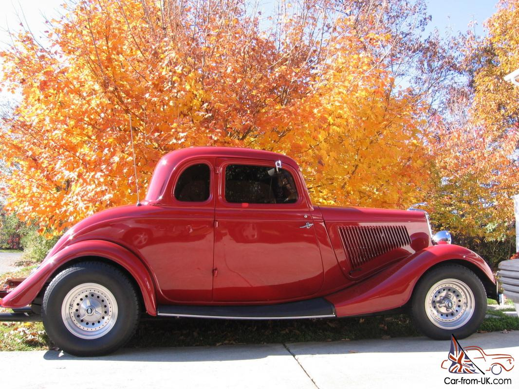 1934 ford 5 window coupe with steel body for 1934 ford 5 window