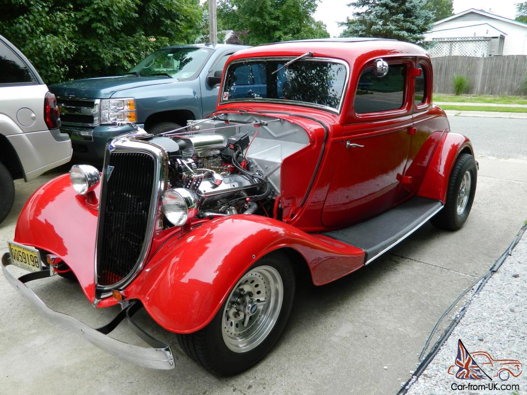 1934 ford 5 window coupe with steel body