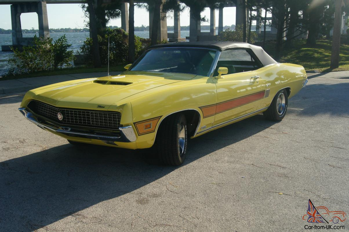 1970 ford torino gt convertible power windows factory a c
