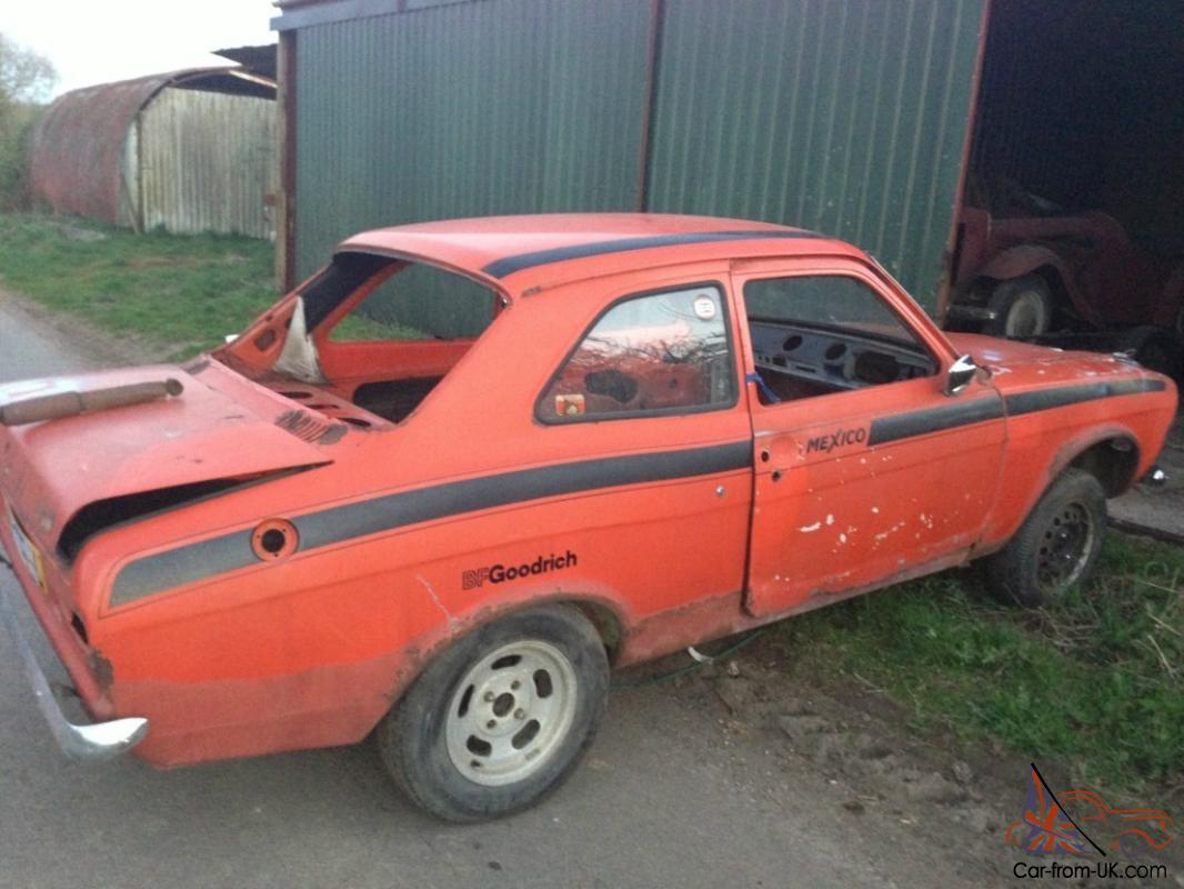 A Genuine AVO Mk1 Ford Escort RS Mexico in