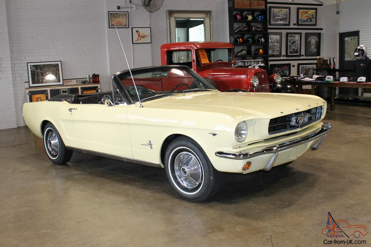 1964 1 2 mustang convertible in sydney nsw. Black Bedroom Furniture Sets. Home Design Ideas