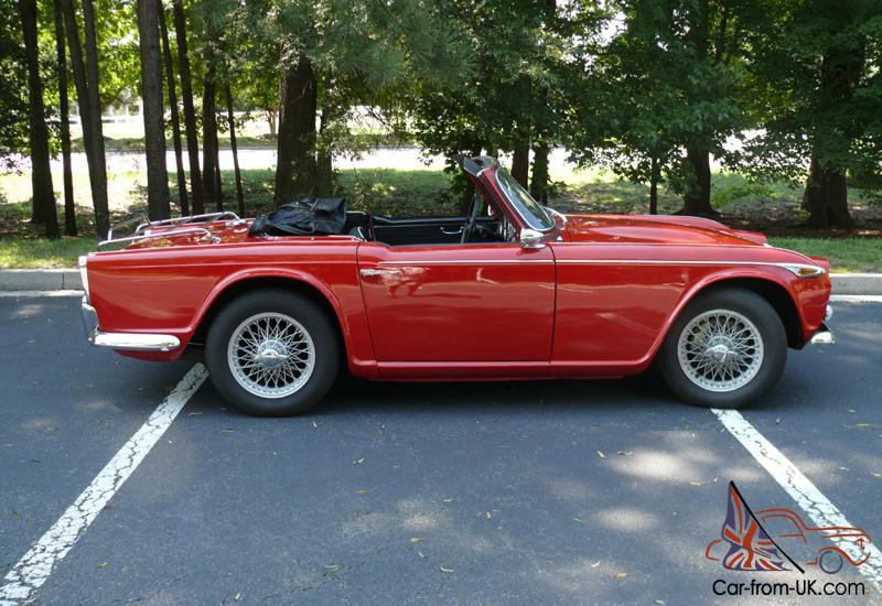 1967 Triumph Tr4a Irs With Overdrive