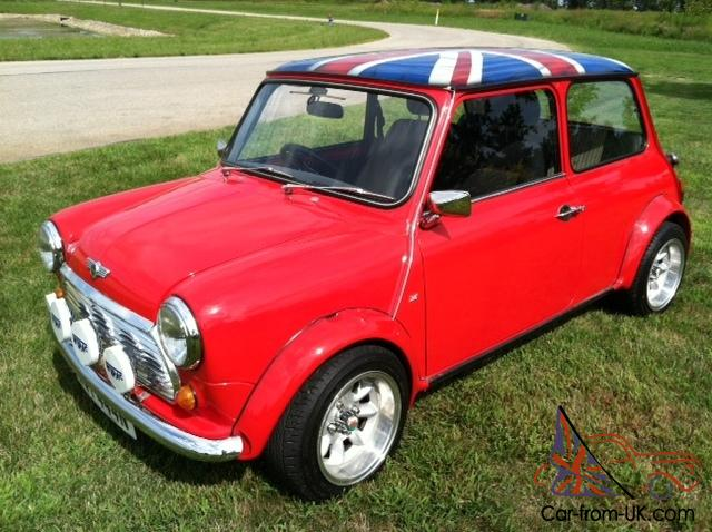 mini cooper classic mini austin. Black Bedroom Furniture Sets. Home Design Ideas