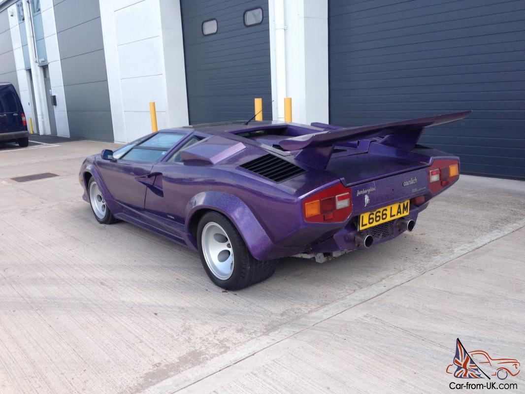 Lamborghini Countach Prova Sport Kit Car Replica Correctly