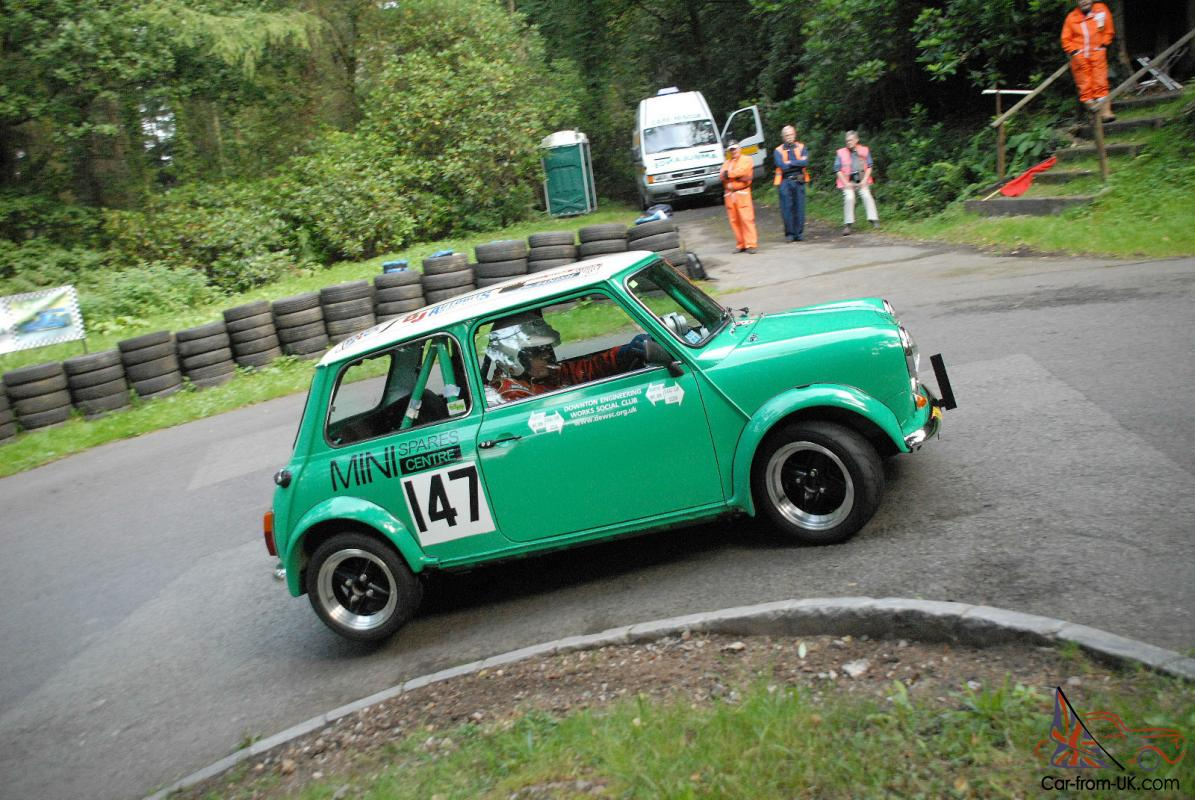 STEVE HARRIS CLASSIC MINI ROAD LEGAL CLASS WINNING CAR HILLCLIMB ...