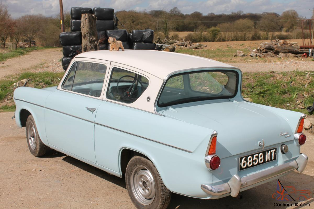 Electric Cars For Sale >> FORD ANGLIA 105 E