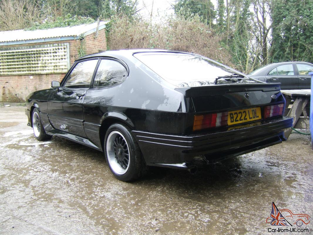 1985 ford capri injection black special turbo. Black Bedroom Furniture Sets. Home Design Ideas
