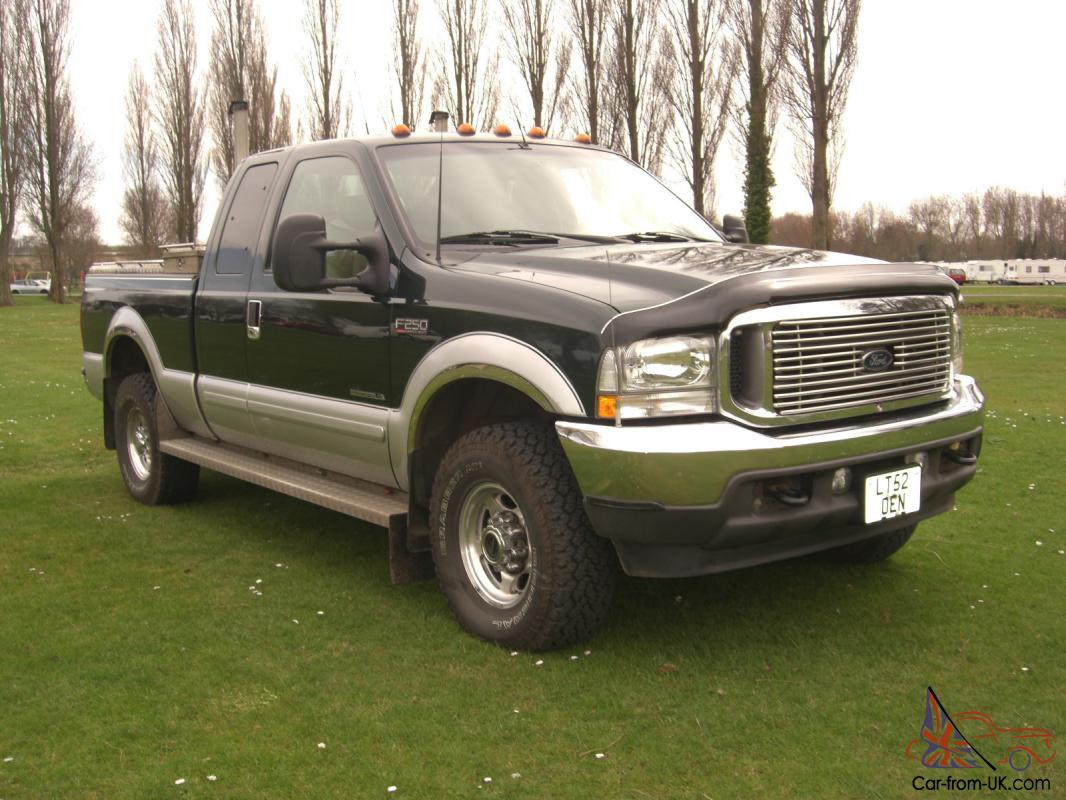 American Ford F250 Lariat 2002 Diesel Pick Up 4x4 Fifth Wheel
