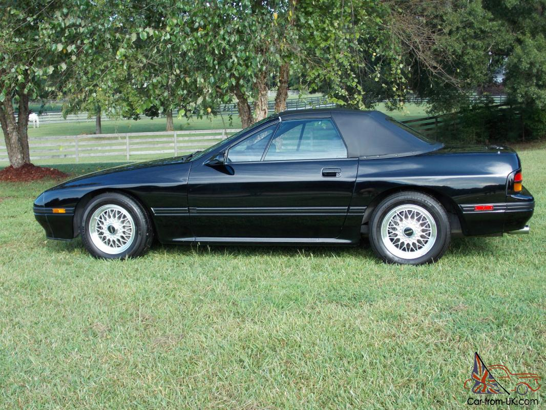 1988 mazda rx7 convertible with 17k miles outstanding original condition. Black Bedroom Furniture Sets. Home Design Ideas
