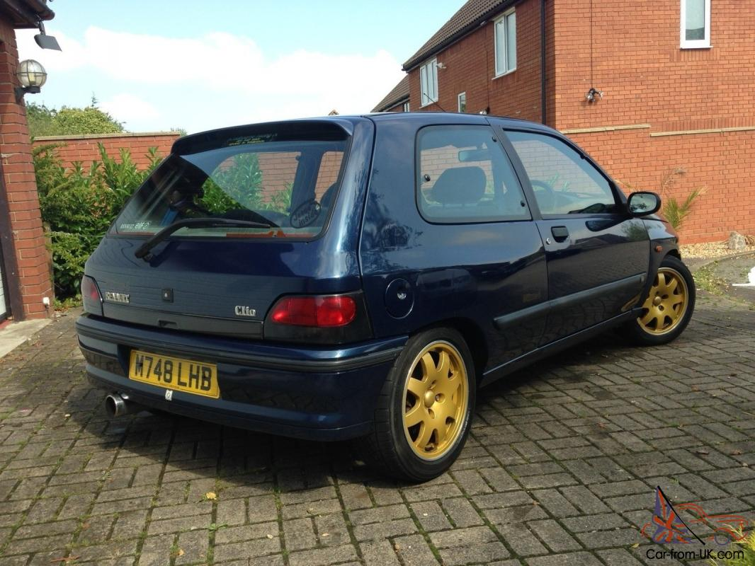 renault clio williams 2 excellent condition ready to enjoy. Black Bedroom Furniture Sets. Home Design Ideas