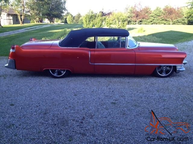 1955 cadillac series 62 convertible 331cu in frame off. Black Bedroom Furniture Sets. Home Design Ideas