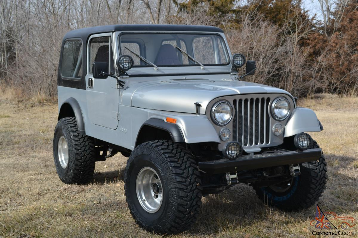 1983 jeep cj7 engine partment  1983  free engine image for