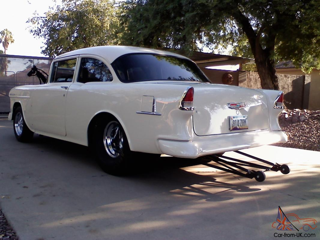 1955 Chevy Pro Street Race Car Post Coupe