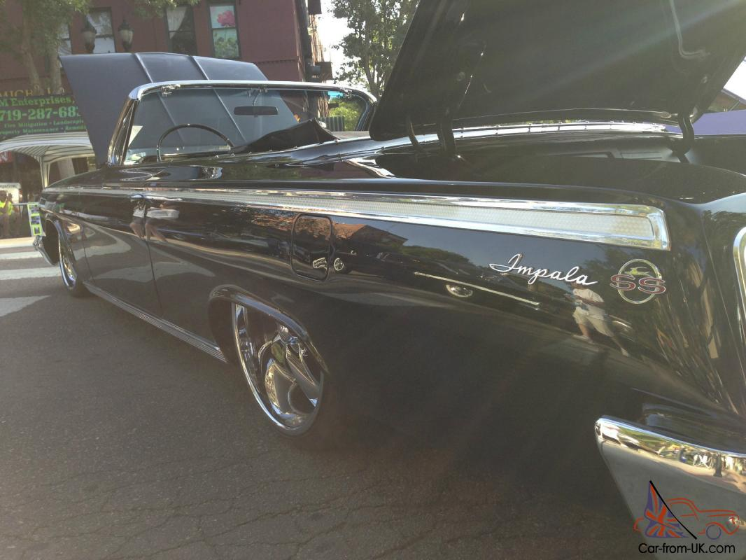 1962 impala SS convertible LS1 Foose Frame Off Low Rod 1961 1963 ...