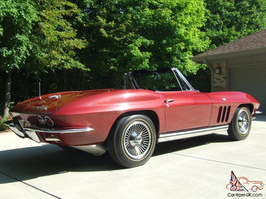 beautiful 1965 corvette convertible 327 365 4 speed. Black Bedroom Furniture Sets. Home Design Ideas