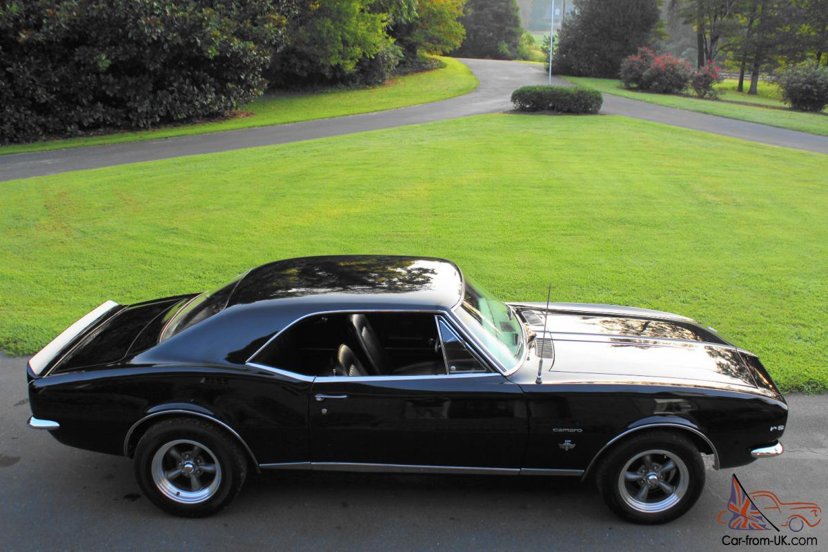 1967 Camaro Rsslick Black Paint327 V83 Speed Automatic 67 Rs Wiring Diagram Limit Switch