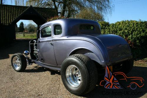 Ford 32 model b 5 window coupe v8 hot rod for 32 ford 5 window coupe
