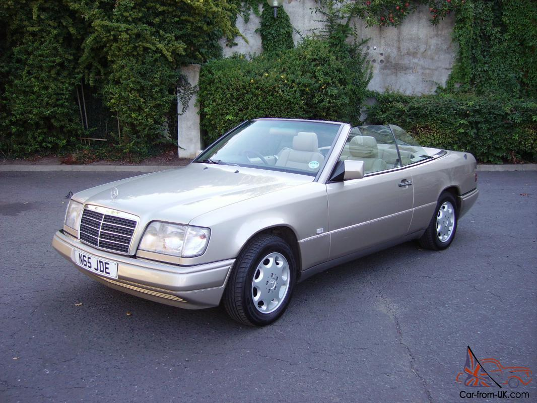 mercedes w124 e220 cabriolet convertible 1996 automatic. Black Bedroom Furniture Sets. Home Design Ideas