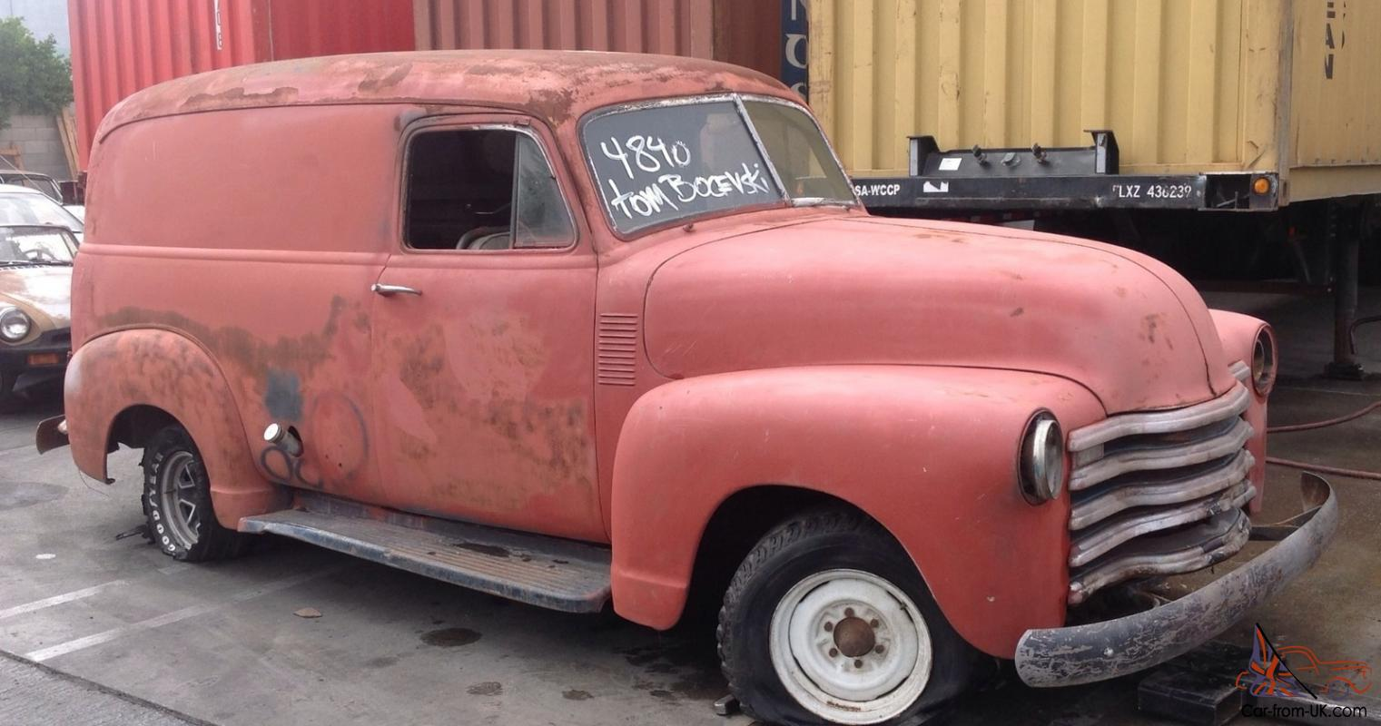 1949 Chevrolet Panel Track Chev 1950 Panal Delivery Van In Melbourne Chevy Sedan Vic
