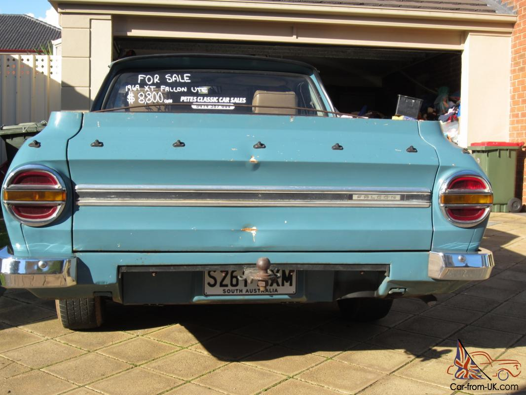 Ford xt falcon 500 ute 1968 classic shape rare gt xw xy drag in adelaide sa Ford motor auto sales