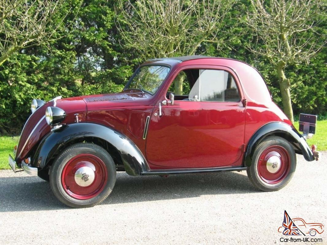 1938 Simca Cinq Topolino Cabriolet Fiat 500 Beautiful