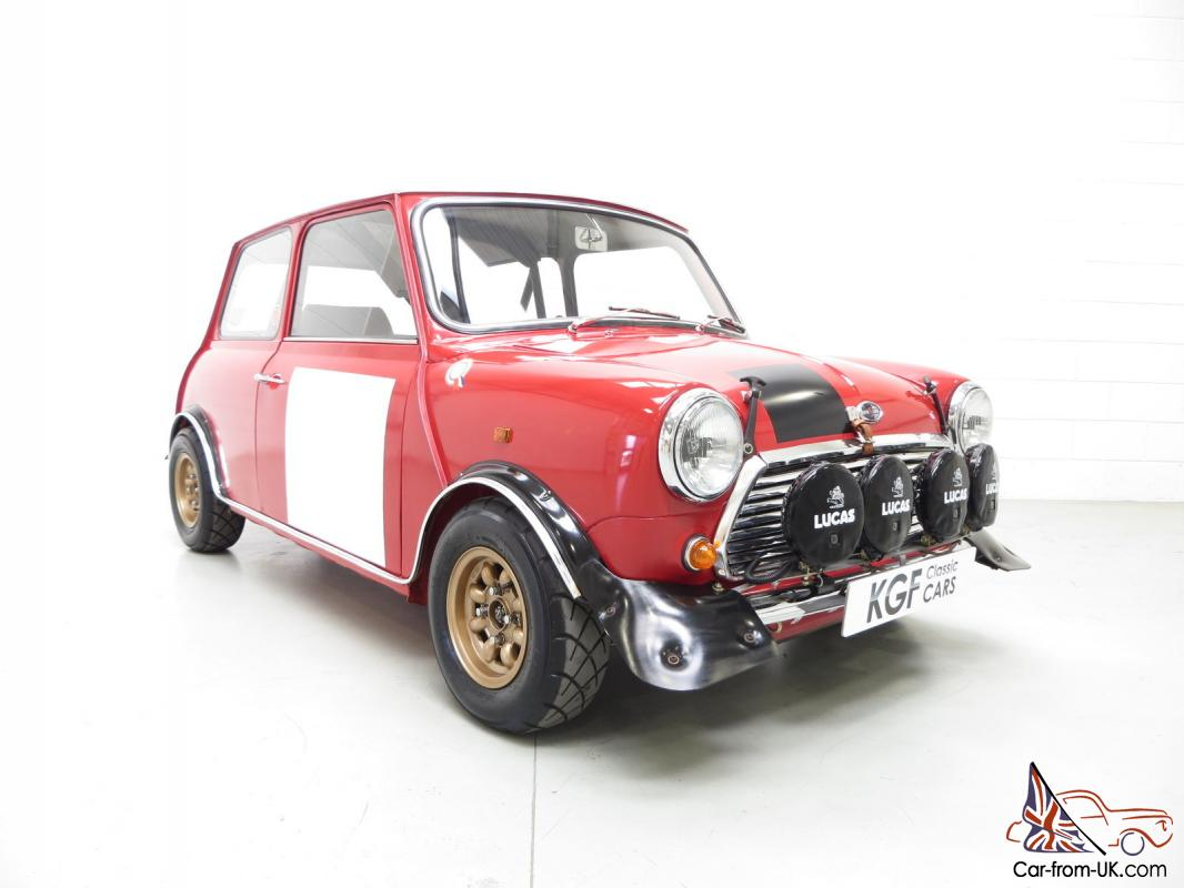 An Incredible Classic Mk2 Mini Cooper S Rally Works Replica Fully