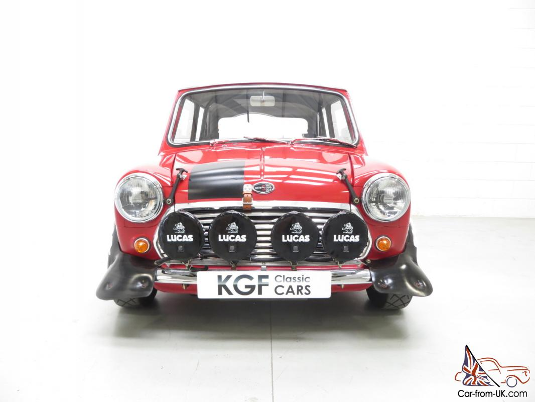 An Incredible Classic Mk2 Mini Cooper S Rally Works