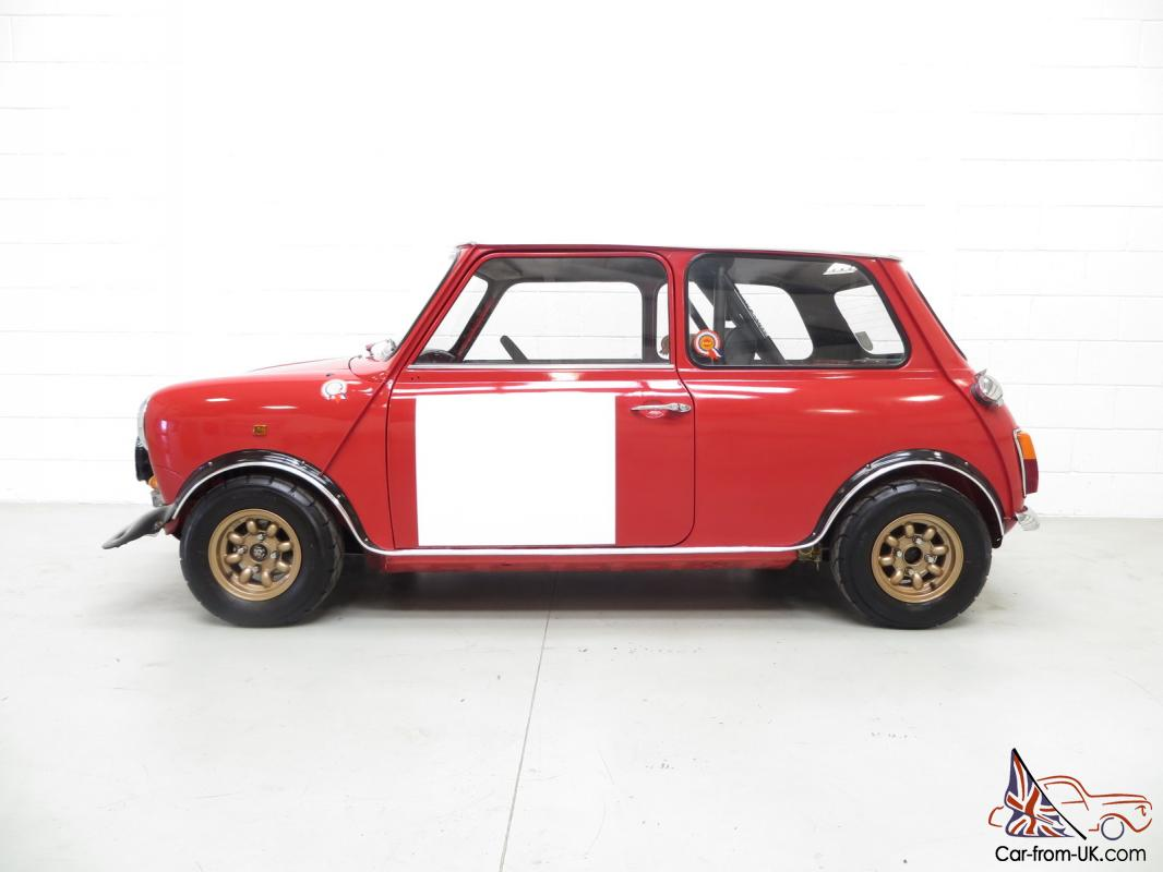 An Incredible Classic Mk2 Mini Cooper S Rally Works Replica Fully ...
